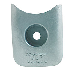 ZINC KK-2 KEEL COOLER 2-3/4X3-1/4IN