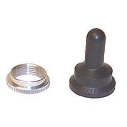 BOOT NUT F/TOGGLE SWITCH
