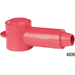 18-10 RED STUD CABLECAP INSULATOR (3)