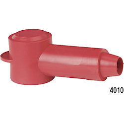 8-4 RED STUD CABLECAP INSULATOR (2)
