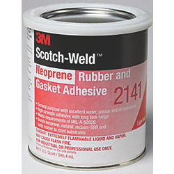 Scotch-Weld 2141 Neoprene Rubber and Gasket Adhesive