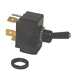 SPST TOGGLE SWITCH ON/OFF TIP LIT
