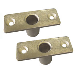 OAR SOCKET, TOP MOUNT, BRONZE,PR