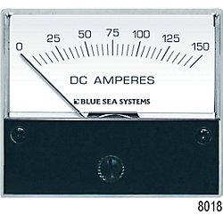 0-150A DC AMMETER ANALOG EXTERNAL SHUNT