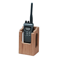 HAND HELD VHF/ GPS RACK  TEAK