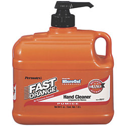 1/2GA PUMICE FAST ORANGE HAND CLEANER