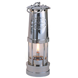 CHROME OIL YACHT LAMP
