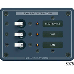 24VDC A SERIES BREAKER PANEL 3 POS