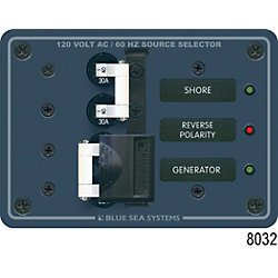 120VDC A SERIES BREAKER PANEL 2 MAIN