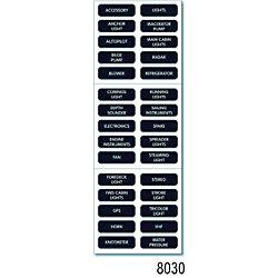BLK DC BASIC LG LABEL KIT (30)