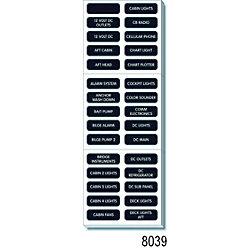BLK DC EXTENDED LG LABEL KIT (120)