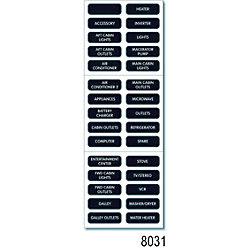 BLK AC BASIC LG LABEL KIT (30)