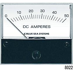 0-50A DC AMMETER ANALOG EXTERNAL SHUNT