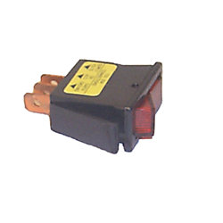 SPST ROCKER SWITCH ON/OFF W/RED LIGHT