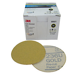 6IN P320A HOOKIT DISC 216U GLD (100)