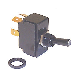SPST TOGGLE SWITCH (ON)/OFF TIP LIT