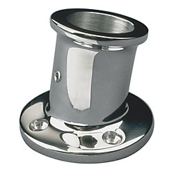 STAINLESS FLAG POLE SOCKET 1-1/4IN