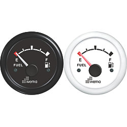 FUEL GAUGE BLACK FACE/BEZEL