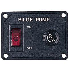 BILGE PUMP SWITCH W/FUSE HOLDER 20A