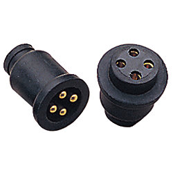 MOLDED ELECTRICAL CONNECTOR 4 PRONG