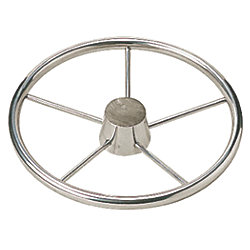 11IN 5 SPOKE SS STEERING WHEEL