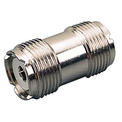 DOUBLE FEMALE UHF COAX CONNECTOR