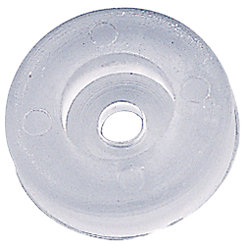 CLEAR WINDSHIELD/DOOR BUMPER PAD*PR