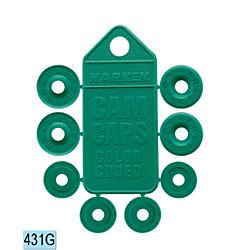 GREEN CAM CAP SET FOR 150, 365, 423