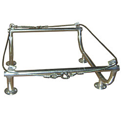 ANODIZED ALUM MOUNTING CRADLE