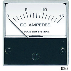 0-15A DC ANALOG MICRO AMMETER