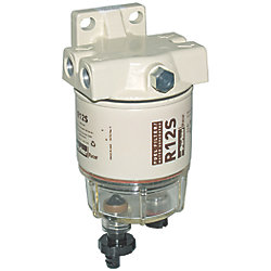 15GPH SPIN-ON FUEL FILTER W/DRAIN