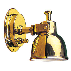 BRASS BERTH LIGHT SMALL