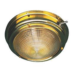 BRASS DOME LIGHT-5IN LENS