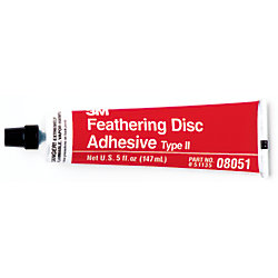 5OZ FEATHERING DISC ADHESIVE TYPE II