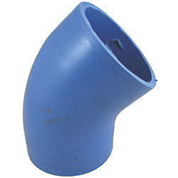 3IN BLU VHT SLC 45DEG ELBOW