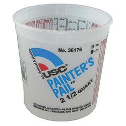 2.5QT  GRADUATED PAINTERS PAIL