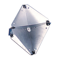 ALUMINUM RADAR REFLECTOR 12IN