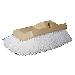 10IN HD WHT BI-LEVEL BIG BOAT BRUSH