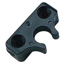 NYLON 90 INSIDE EYE END BRKT BLK*PR