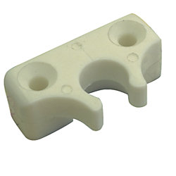 NYLON 90 INSIDE EYE END BRKT WHT*PR