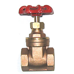1-1/4IN NPT BRS FULL PORT GATE VALVE