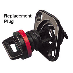REPLACEMENT PLUG & GASKET (2)