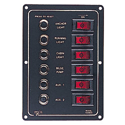 CIRCUIT BREAKER PANEL-6 CIRCUIT