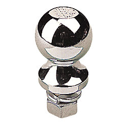 CHROME/STEEL TRAILER BALL 1-7/8X3/4