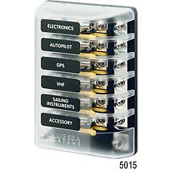 32V AGC FUSE BLOCK 6 CIRCUIT BUS & COVER