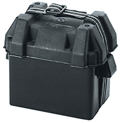 GROUP 31 VENTED BATTERY BOX BLACK
