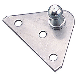 STAINLESS FLUSH GAS LIFT MOUNT