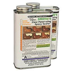 2-QT KIT RESTOR-IT CLEAR PENET EPXY