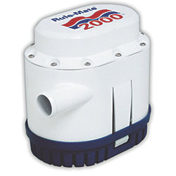 24V 2000GPH RULE-MATE AUTO BILGE PUMP