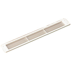 ABS LOUVERED VENT-WHITE